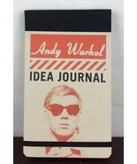 Andy Warhol Idea Journal  VeryGood - $7.70