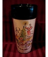 Starbucks Coffee Travel Mug Cup Christmas Tree  - $9.99