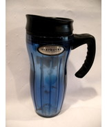 Starbucks Coffee Company Barista 2002 Travel Mug Cup Blue  - $7.99