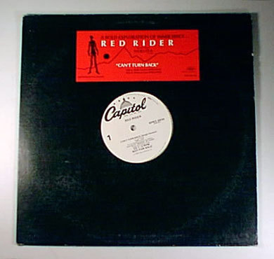 "RED RIDER Can't Turn Back WL DJ PROMO 12"" TOM COCHRANE"