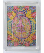 Psychedelic Lady Bug Print Refrigerator Magnet ... - $5.00