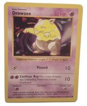 Pokemon Card - Drowzee - (49/102) Shadowless Base Set Common ***NM*** - $1.99