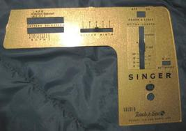 Singer Golden Touch & Sew Models 630  Face Plate #163692 & Screw - $10.00