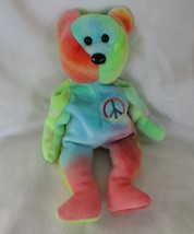 Ty Beanie Baby Peace Bear NO TAGS - $4.94