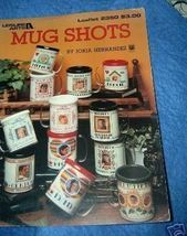 Mug Shots Cross Stitch Leaflet 2350 Leisure Arts  - $3.00
