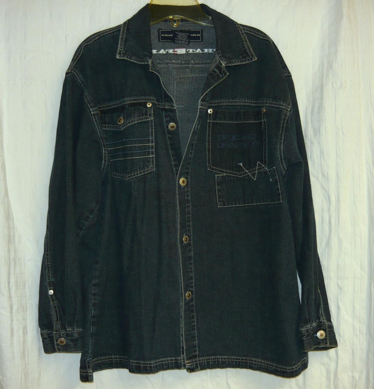 Phat Farm Denim Jacket-XL 18-20