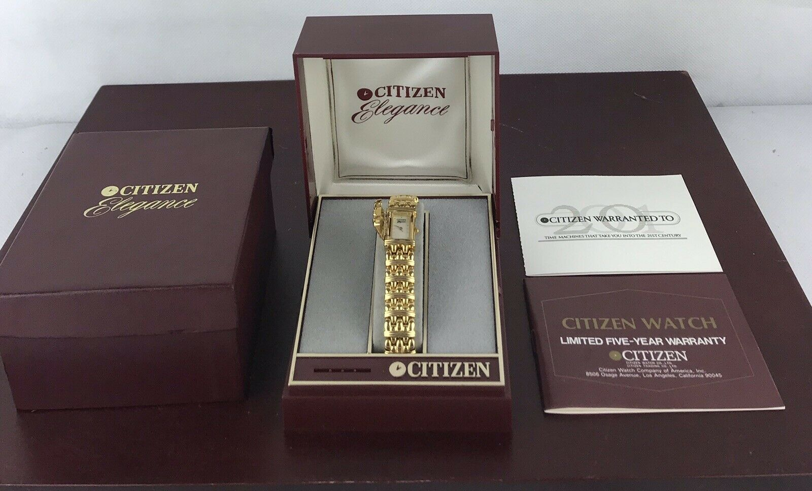 Primary image for Citizen Elegance Women's Watch Size 7""
