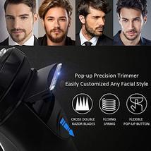 Electric Razor for Men,FLYCO Wet & Dry Mens Razors for Shaving Electric Cordless image 4