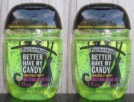 Pocketbac Better Have My Candy Antibacterial Hand Gel 2 Pack Bath and Bo... - $5.50