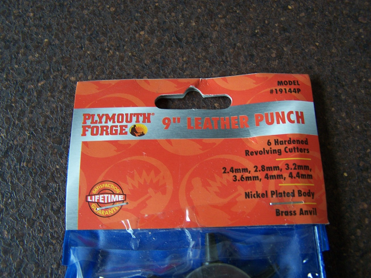 """Plymouth Forge 9"""" Leather Punch"""