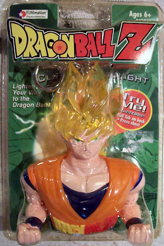 Dragonball Z DBZ Super Saiyan Goku Action Figure 1999 NEW Factory Sealed NIP