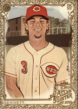 2019 Topps Allen and Ginter Gold Hot Box #269 Scooter Gennett Reds - $2.95