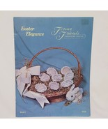 Easter Elegance Eggs Counted Cross Stitch Pattern Leaflet Forever Friend... - $14.00