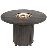 """OUTDOOR PATIO 60"""" ROUND BAR HEIGHT FIRE TABLE - SERIES 4000 - $2,970.00"""