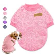 Dog Clothes Chihuahua Puppy Pet Clothes Winter Dog Jacket Coat Soft Swea... - $435,83 MXN