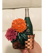 Bath  & Body Works Basket Wine Flowers Nightlight Wallflower Fragrance P... - $14.75