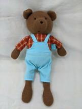 "Manhattan Toy Bear Plush 11"" Blue Pants 2019 Stuffed Animal Toy - $24.95"