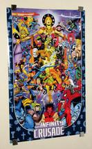 Marvel Infinity Crusade poster:Avengers/Spider-man/Thor/Thanos/Hulk/Iron Man/war - $69.99