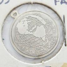 1965 NEW YORK WORLD'S FAIR GF CHARM BRACELET CHARM NICE