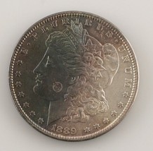 1889 $1 Silver Morgan Dollar (Choice BU Condition) Toned on Both Sides! - $48.51