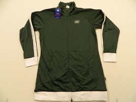 M86 NWT REEBOK New York Jets Green Hoodie Hooded FZ Dress E Jacket WOMEN'S - €42,42 EUR