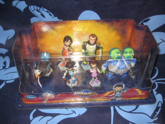 Disney Store Miles from Tomorrowland Figurine Playset Cake Topper Merc Miles