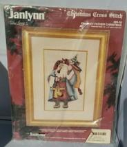Janlynn Weihnachten Abgezähltes Kreuzstich Fantasie Weihnachtsmann Neu - $31.69