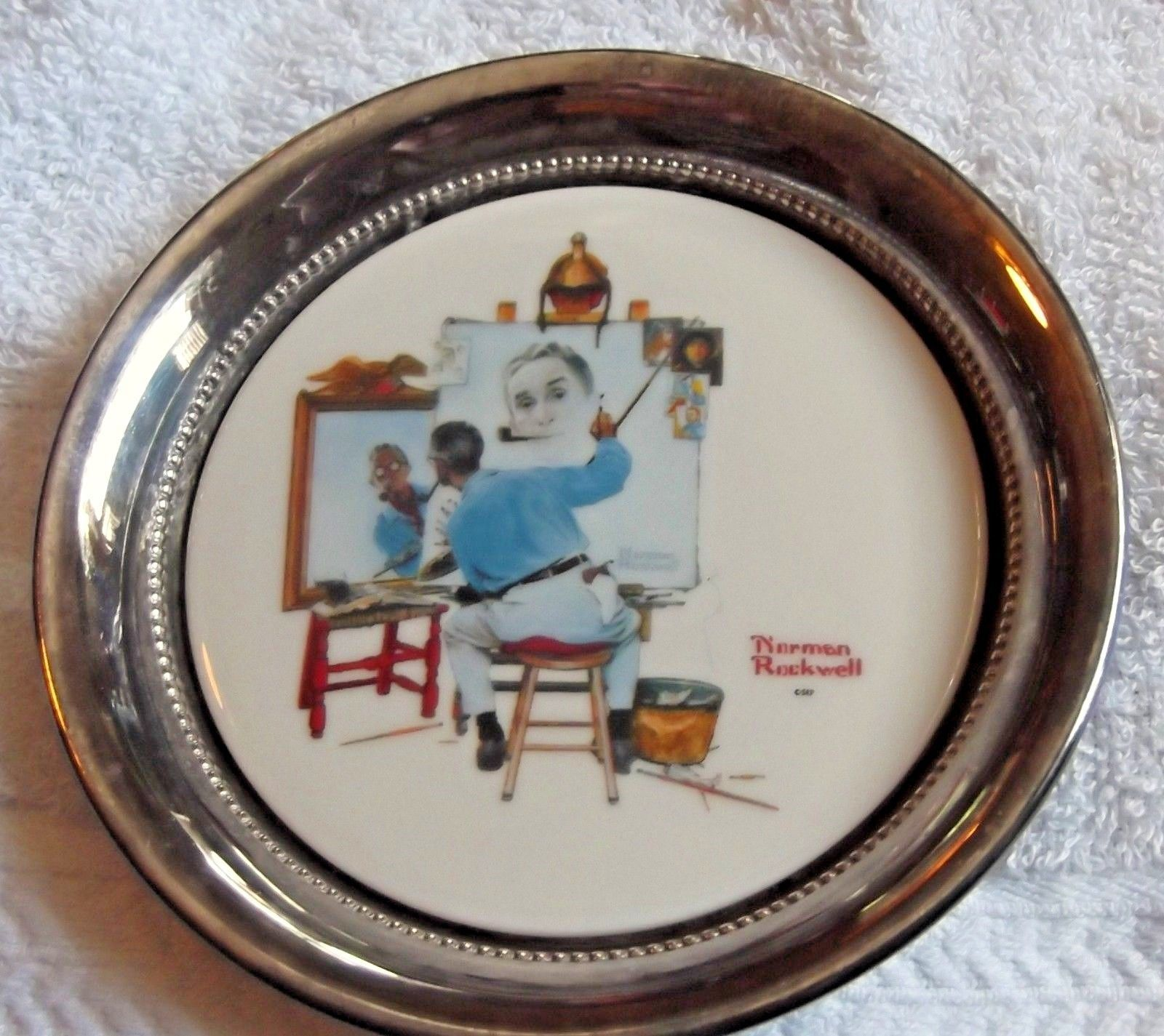 Norman Rockwell Gorham Collector Society and 50 similar items