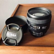 Nikon NIKKOR 85mm f/1.8 D AF Camera Lens with Hood Pouch  - $228.90