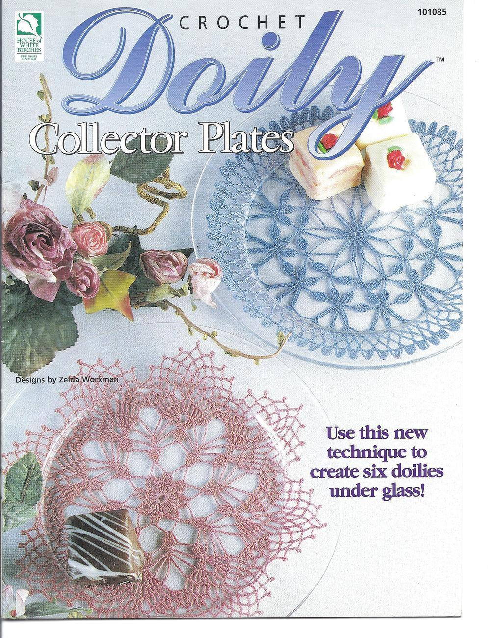 Doily Collector Plates Crochet Patterns OOP~New - $14.99