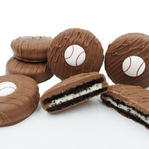Philadelphia Candies Milk Chocolate Covered OREO® Cookies, Baseball Gift 8 Ounce - $15.79