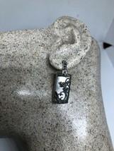 vintage marcasite earrings Mother Of Pearl Deco Dangle - $75.24