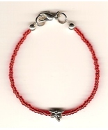Anorexia Support Bracelet - Ana FRAGILE .925 Dr... - $29.99