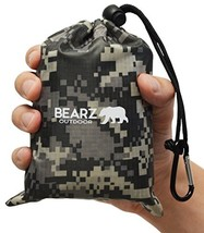 BEARZ Outdoor Beach Blanket/Compact Blanket 55?x60? - Waterproof, Camouf... - $30.16