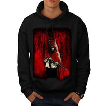 Girl Hunter Wild Fantasy Sweatshirt Hoody Scary Wolf Men Hoodie - $20.99+