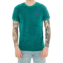 MAN T-SHIRT RUSSELL ATHLETIC SS CREWNECK TEE E90141.232.IVY CHENILLE MAN... - $61.74