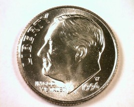 1996-W ROOSEVELT DIME SUPERB UNCIRCULATED SUPERB UNC. NICE ORIGINAL COIN - $36.00