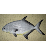 Pompano Fish Wood 16X9 in. - $83.60
