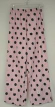Morgan Taylor Intimates Pink Dot Pajama Set Adult Medium Grade B image 5
