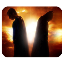 Mouse Pads Batman VS Superman Movie In Sunset Design Superheroes Anime M... - $6.00