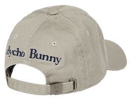Psycho Bunny Men's Cotton Embroidered Strapback Sports Baseball Cap Hat image 13