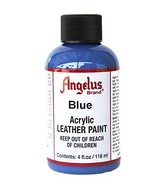 Angelus Acrylic Paint 4 Oz. (Blue) - $9.10