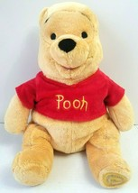 "Disney Authentic Winnie The Pooh Plush Stuffed Animal Teddy Bear 17"" - $19.39"