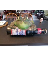 Vintage 1995 Budweiser Light-Up Motion Activated Talking Frog Lamp - REPAIR - $99.00