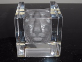 KOSTA BODA BERTIL VALLIEN #68527 CAT VIEWPOINTS PAPERWEIGHT - $149.00