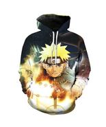 New Arrival Fashion Anime Hooded Sweatshirt 3d Print Naruto Hoodie Mens ... - $54.99+