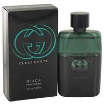 Gucci Guilty Black by Gucci Eau De Toilette Spray 1.6 oz (Men) - $62.32