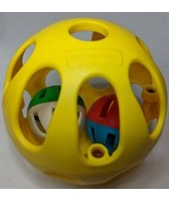 Fisher Price Balls in Ball Rolling Toy Jingle Vintage 1996 McDonald's Un... - $5.89+