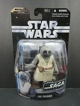 """Star Wars Saga Collection Foul Moudama Clone Wars 2006 Hasbro 4.5"""" Figur... - $12.59"""