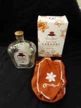 Empty Crown royal Carmel bottle bag n box - $9.99